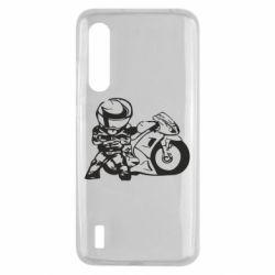 Чехол для Xiaomi Mi9 Lite Мотоциклист