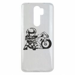 Чехол для Xiaomi Redmi Note 8 Pro Мотоцикл