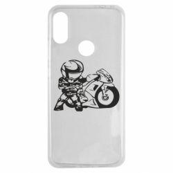 Чехол для Xiaomi Redmi Note 7 Мотоциклист