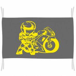 Флаг Мотоциклист