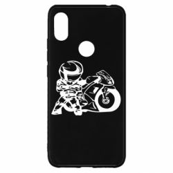 Чехол для Xiaomi Redmi S2 Мотоциклист