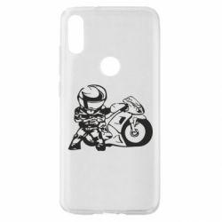 Чехол для Xiaomi Mi Play Мотоциклист