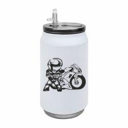 Термобанка 350ml Мотоциклист