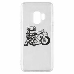 Чехол для Samsung S9 Мотоциклист - FatLine