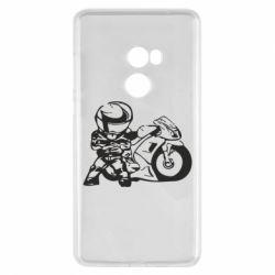 Чехол для Xiaomi Mi Mix 2 Мотоциклист - FatLine