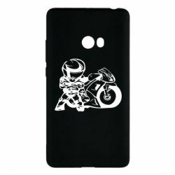 Чехол для Xiaomi Mi Note 2 Мотоциклист - FatLine