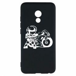 Чехол для Meizu Pro 6 Мотоциклист - FatLine