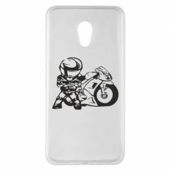 Чехол для Meizu Pro 6 Plus Мотоциклист - FatLine