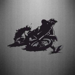 Наклейка Мотокросс лого - FatLine