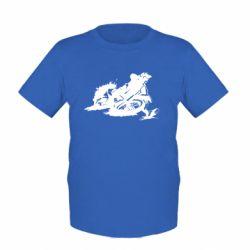 Детская футболка Мотокросс лого - FatLine