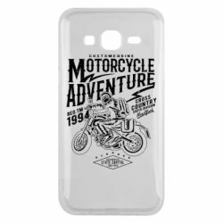 Чехол для Samsung J5 2015 Motorcycle Adventure
