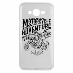 Чехол для Samsung J7 2015 Motorcycle Adventure