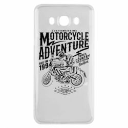 Чехол для Samsung J7 2016 Motorcycle Adventure