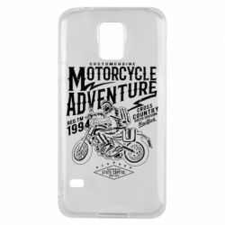 Чехол для Samsung S5 Motorcycle Adventure