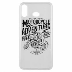 Чехол для Samsung A6s Motorcycle Adventure