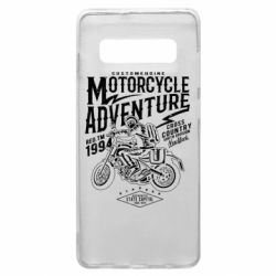 Чехол для Samsung S10+ Motorcycle Adventure