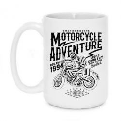 Кружка 420ml Motorcycle Adventure