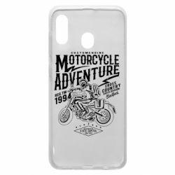 Чехол для Samsung A20 Motorcycle Adventure