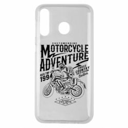 Чехол для Samsung M30 Motorcycle Adventure