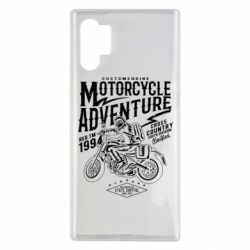 Чехол для Samsung Note 10 Plus Motorcycle Adventure