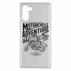 Чехол для Samsung Note 10 Motorcycle Adventure
