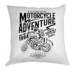 Подушка Motorcycle Adventure