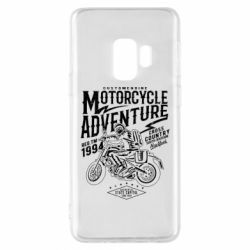 Чехол для Samsung S9 Motorcycle Adventure
