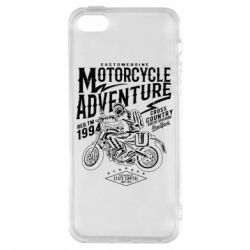 Чехол для iPhone5/5S/SE Motorcycle Adventure