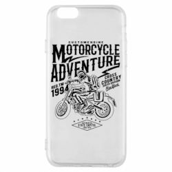 Чехол для iPhone 6/6S Motorcycle Adventure