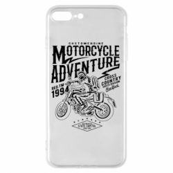 Чехол для iPhone 8 Plus Motorcycle Adventure