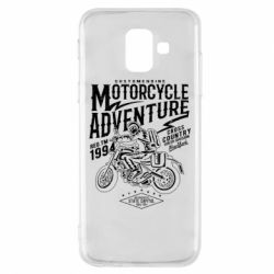Чехол для Samsung A6 2018 Motorcycle Adventure