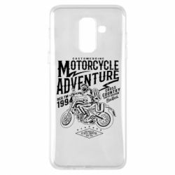 Чехол для Samsung A6+ 2018 Motorcycle Adventure