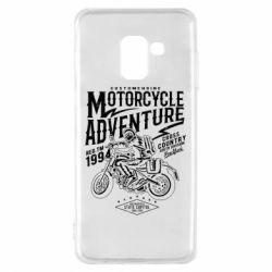 Чехол для Samsung A8 2018 Motorcycle Adventure