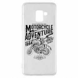 Чехол для Samsung A8+ 2018 Motorcycle Adventure