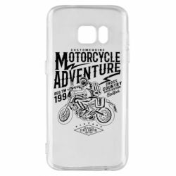 Чехол для Samsung S7 Motorcycle Adventure