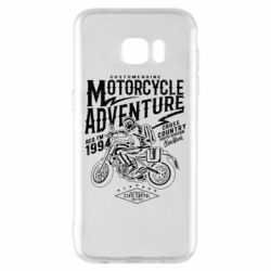 Чехол для Samsung S7 EDGE Motorcycle Adventure