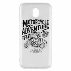 Чехол для Samsung J5 2017 Motorcycle Adventure
