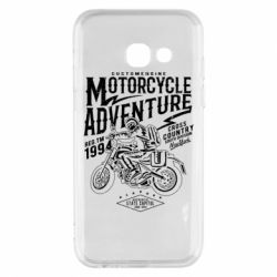 Чехол для Samsung A3 2017 Motorcycle Adventure