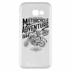 Чехол для Samsung A5 2017 Motorcycle Adventure