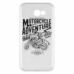 Чехол для Samsung A7 2017 Motorcycle Adventure