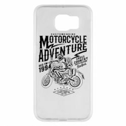 Чехол для Samsung S6 Motorcycle Adventure