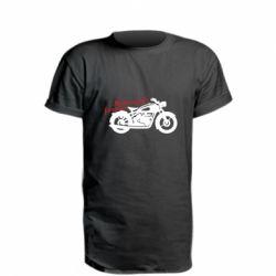 Подовжена футболка Motorcycle forever