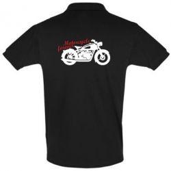 Футболка Поло Motorcycle forever