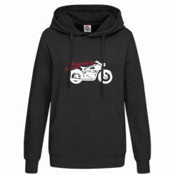 Толстовка жіноча Motorcycle forever
