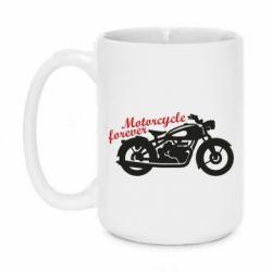 Кружка 420ml Motorcycle forever