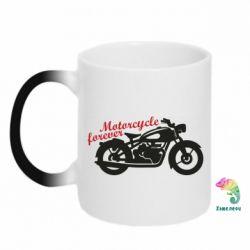 Кружка-хамелеон Motorcycle forever