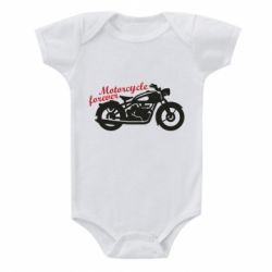 Дитячий бодік Motorcycle forever