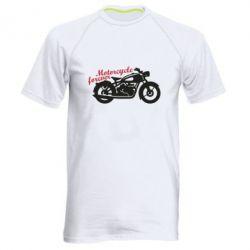 Чоловіча спортивна футболка Motorcycle forever