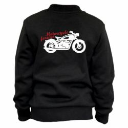 Дитячий бомбер Motorcycle forever