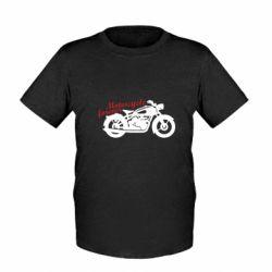 Дитяча футболка Motorcycle forever